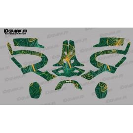 Sticker Flores edition (Green/Orange)- Headphones PFANNER Protos-idgrafix