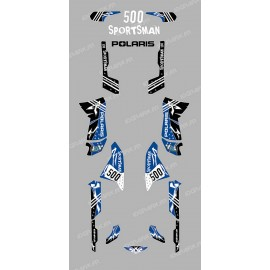 Kit decorazione Street Blu - IDgrafix - Polaris 500 Sportsman