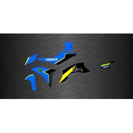 Kit de decoració Blau/Groc GP d'edició - Yamaha MT-09 Traçadors -idgrafix