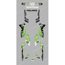 Kit de decoració Carrer Verd - IDgrafix - Polaris 500 Esportista
