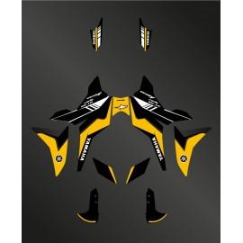 Kit decoration 60th Edition (Yellow) - Yamaha MT-09 Tracer - IDgrafix