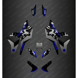 Kit de decoració Camo Edició (Gris/Blau) - Yamaha MT-09 Traçadors -idgrafix