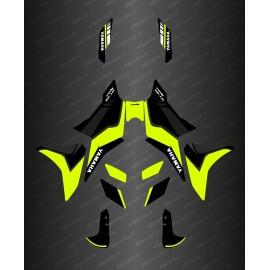 Kit decoration Yellow Fluo Grey/GP Edition, Yamaha MT-09 Tracer - IDgrafix