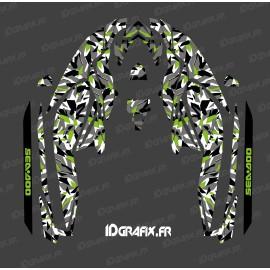 Kit décoration Camo Digital Full Edition (Vert) - pour Seadoo GTI (après 2020)