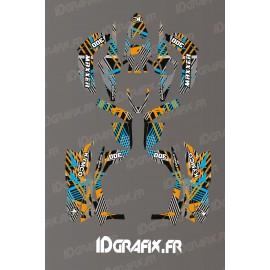 Kit Deco Rockstar Edición (Amarillo) - Kymco Maxxer 300 (a partir de 2020) -idgrafix