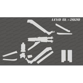 Kit adhesiu de protecció complet (brillant o mat) - Especialitzat LEVO SL (després de 2020) -idgrafix