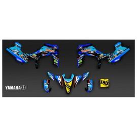 Kit de decoració de Sorra Edició de color Gris - IDgrafix - Yamaha YFZ 450 / YFZ 450R -idgrafix