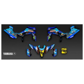 Kit de decoración de Arena Edition - Gris IDgrafix - Yamaha YFZ 450 / YFZ 450R -idgrafix