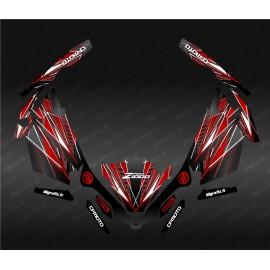 Kit décoration Speed Edition (Rouge) - Idgrafix - CF Moto ZForce 1000 Sport