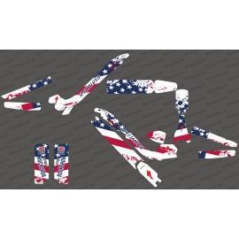Kit deco USA Flag Edition Full - Specialized Kenevo - IDgrafix