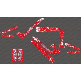 Kit deco Esquerdades Edició Completa (vermell/Blanc) - Especialitzada Kenevo -idgrafix