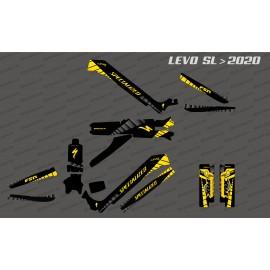 Kit deco GP Edition complet (groc) - Especialitzat Levo SL (després de 2020) -idgrafix