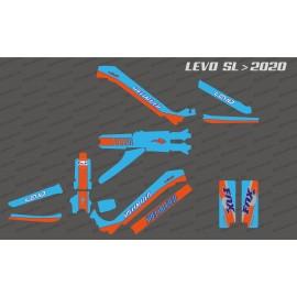Kit deco Gulf Edition complet - Levo SL especialitzat (després de 2020) -idgrafix
