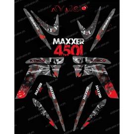 Kit decorazione Superstite di IDgrafix - Kymco Maxxer 450