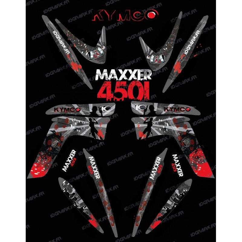 Kit dekor Survivor - IDgrafix - Kymco 450 Maxxer -idgrafix
