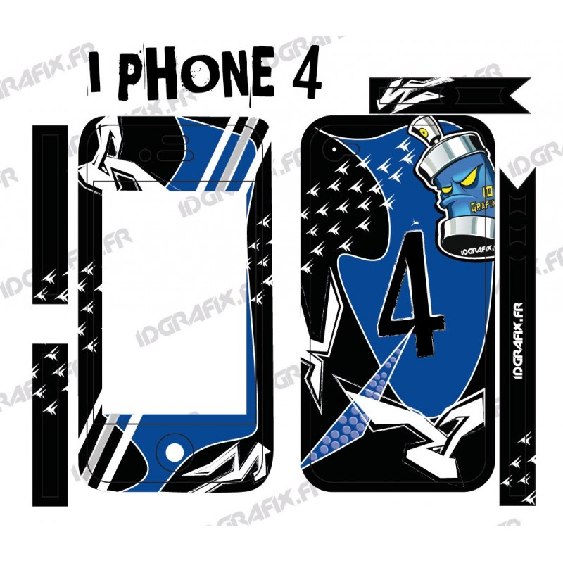 Kit-Deco-Street Iphone 4 / 4S -idgrafix