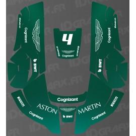 Pegatina Aston Martin F1 Edition-Husqvarna AUTOMOWER robot de siega -idgrafix