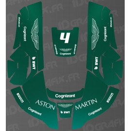 Sticker Aston Martin F1 Edition - Husqvarna AUTOMOWER robot mower-idgrafix