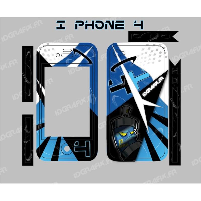 Kit Déco Space Iphone 4 / 4S -idgrafix