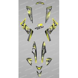 Kit de Decoración Tribal Amarillo-IDgrafix-Kymco 250 KXR / Maxxer -idgrafix