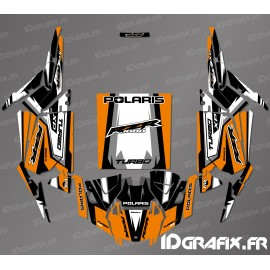 Kit decoration Drop Edition (Orange)- IDgrafix - Polaris RZR 1000 Turbo / Turbo S - IDgrafix