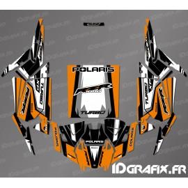 Recta Edició Decoració Kit (Taronja)- IDgrafix-Polaris RZR 1000 Turbo / Turbo S -idgrafix