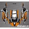 Kit décoration Straight Edition (Orange)- IDgrafix - Polaris RZR 1000 Turbo / Turbo S