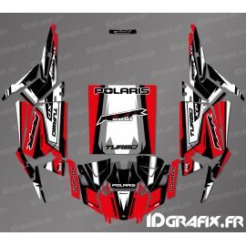 Straight Edition Decoration Kit (Red)- IDgrafix-Polaris RZR 1000 Turbo / Turbo S - IDgrafix