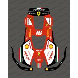 Pegatina F1 Scuderia edition-Robot de siega Husqvarna AUTOMOWER PRO 520/550 -idgrafix