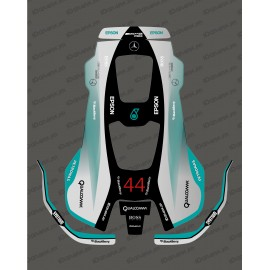 Sticker F1 Mercedes edition-Mowing robot Husqvarna AUTOMOWER PRO 520/550-idgrafix