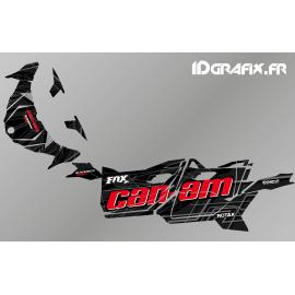 Kit décoration Bond Edition (Rouge/Noir) - Idgrafix - Can Am Maverick SPORT