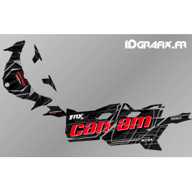 Kit de decoración de Bond Edition (Rojo) - Idgrafix - Can Am Maverick DEPORTE -idgrafix