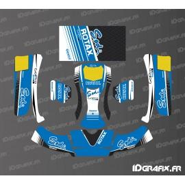 Kit déco Factory Edition Sodi Racing (Bleu) pour Karting Buru Evo