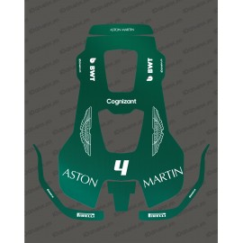 Adhesiu F1 Alpí edició-Tallar robot Husqvarna AUTOMOWER PRO 520/550