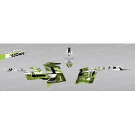Kit décoration Pics (Vert) - IDgrafix - Polaris 550 XPS