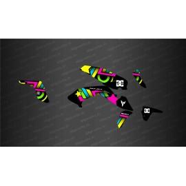 Kit déco DC Shoes Edition (jaune) - IDgrafix - Yamaha MT-07 (après 2021)