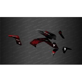 Kit déco Monster Edition (Rouge) - IDgrafix - Yamaha MT-07 (après 2021)
