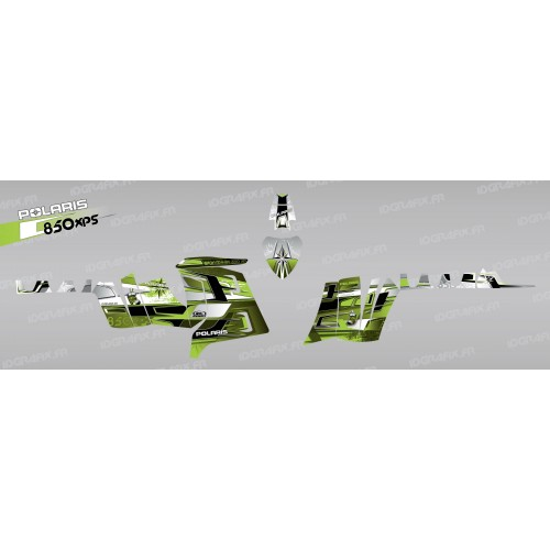 Kit de decoració Pronòstics (Verd) - IDgrafix - Polaris 850 /1000 XPS -idgrafix