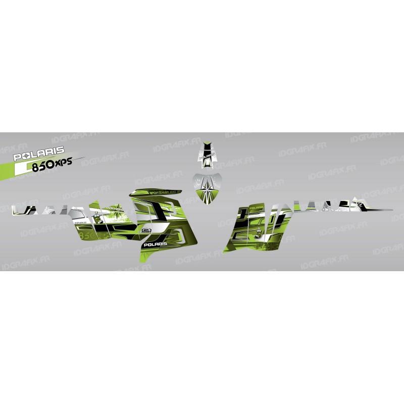 Kit décoration Pics (Vert) - IDgrafix - Polaris 850 /1000 XPS-idgrafix
