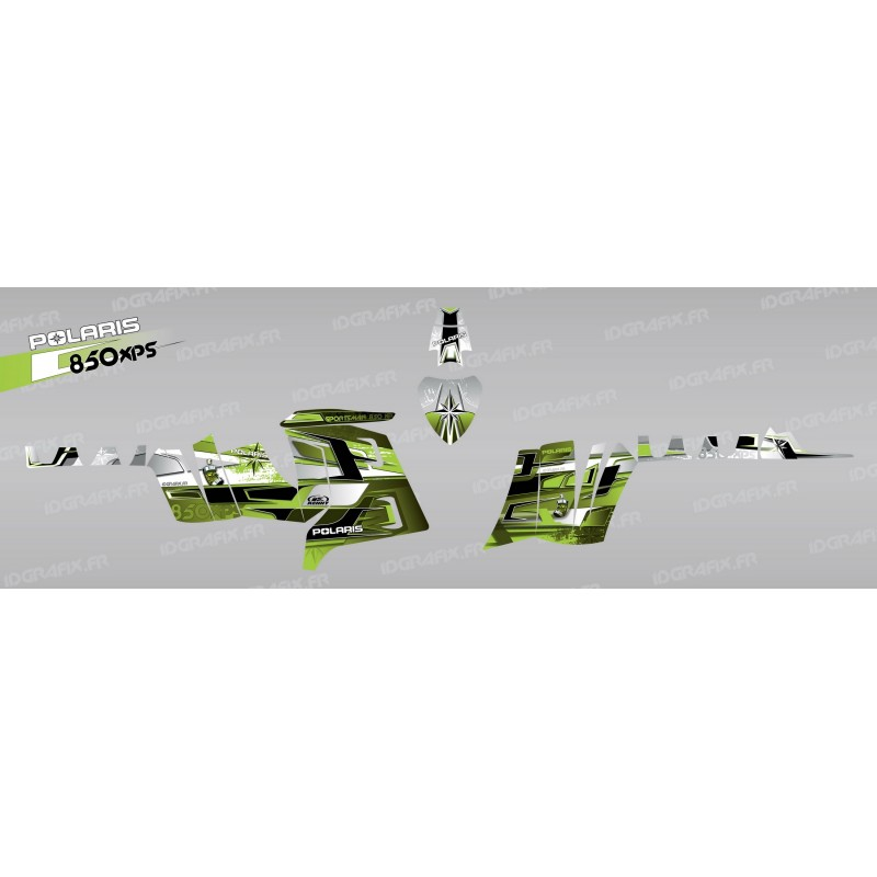 Kit de decoració Pronòstics (Verd) - IDgrafix - Polaris 850 /1000 XPS -idgrafix
