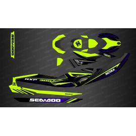 Kit dekor-Rock Gelb für Seadoo RXP-X 260 / 300 -idgrafix