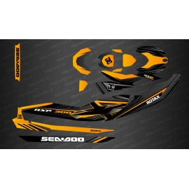 Kit decoration Factory Edition (Orange) for Seadoo RXP-X 300 (after 2021)-idgrafix