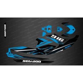 Kit décoration Factory Edition (Bleu) - pour Seadoo GTI (après 2020)