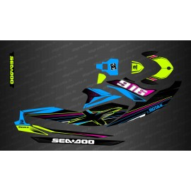 Kit decoration Factory Edition (Rainbow) - for Seadoo GTI (after 2020)-idgrafix