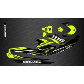 Kit décoration Factory Edition (Jaune Lime) - pour Seadoo GTI (après 2020)