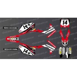 Kit de decoración de Honda DC Edición - Honda CR/CRF 125-250-450 -idgrafix