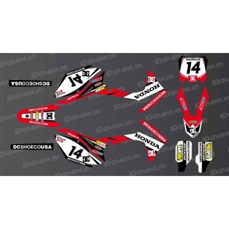 Kit decoration Honda DC Edition - Honda CR / CRF (50-70-80-85-110-150) - IDgrafix