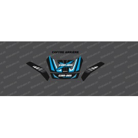 Kit de decoració Limitada Pot Matí (de color Blau) - tronc Façana original + Posterior BRP -idgrafix