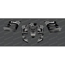 Kit deco Rockstar Edition (gris) - TGB BLADE (400/425/450/460/550) -idgrafix