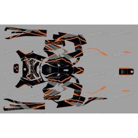 Decoració del kit Edició de fàbrica (taronja) - IDgrafix - Can Am Ryker 600/900 -idgrafix